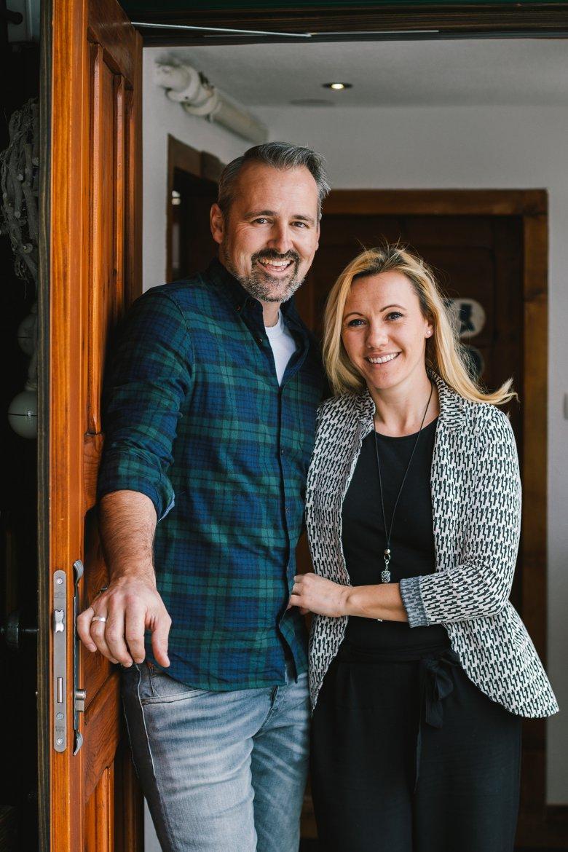 One episode of Netflix's new restaurant makeover series visits Dave Bradley and Miriam Scherl in Pettneu.