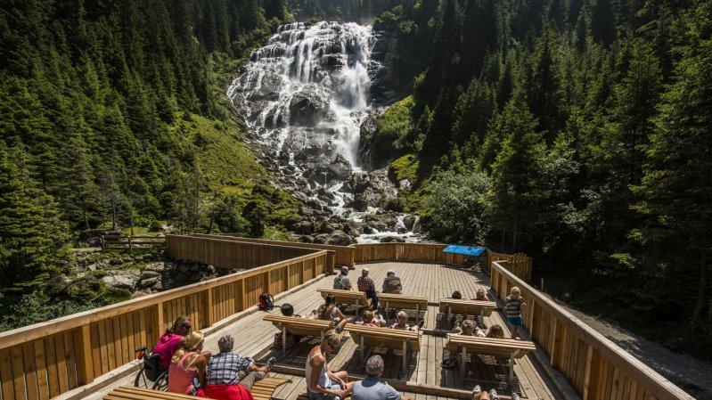 Grawa Waterfall, © TVB Stubai Tirol/Heinz Zak
