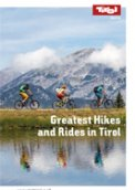 Leporello Best Hikes & Rides in Tirol
