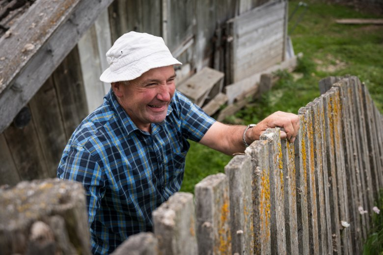 Josef Plangger relies on the help of volunteers every summer at his mountain farm Stableshof.