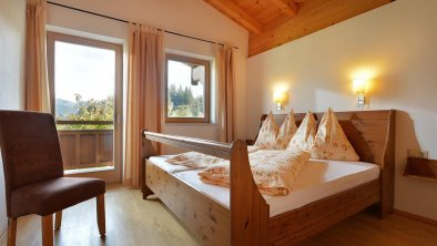 Appartement Wilder Kaiser Schlafzimmer