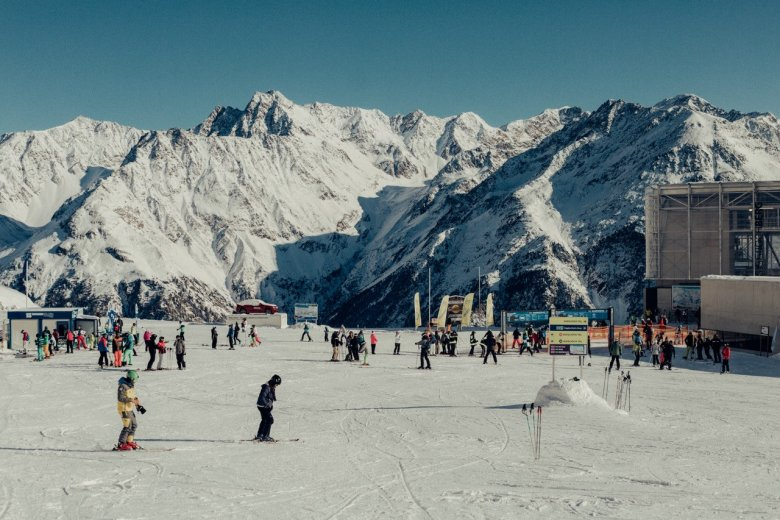 Our recommended access point to the Sölden Ski Resort: Giggijoch Mountain.