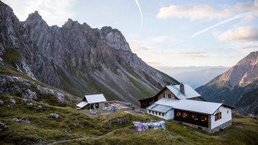Würtemberger Haus Hut in the Lechtal Alps, © Tirol Werbung/Dominik Gigler