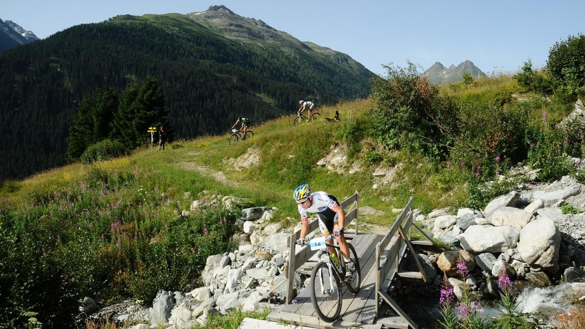 Ischgl also has plenty to offer in summer. The Ironbike is one of the toughest mountain bike marathons in the world and has the highest prize money of any mountain bike marathon in Europe., © Paznaun-Ischgl