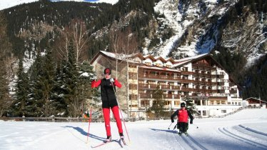 Weisseespitze novice track - perfect to help you get started with Adaptive Nordic Skiing, © Tiroler Oberland