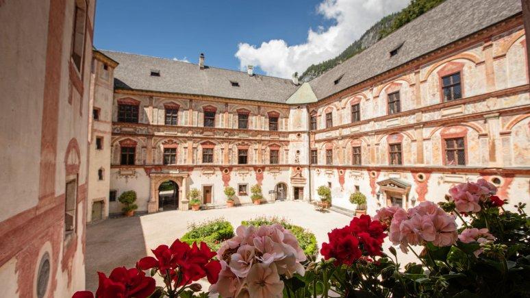 Courtyard, © Schloss Tratzberg
