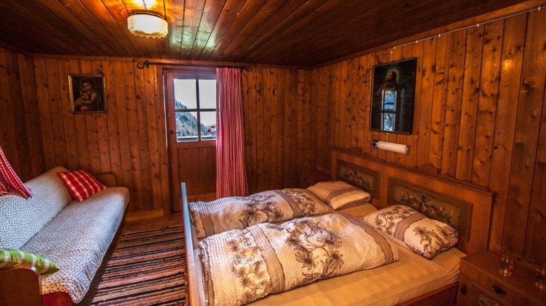 Bedroom, Almhütte Hoanza, © Huetten.com