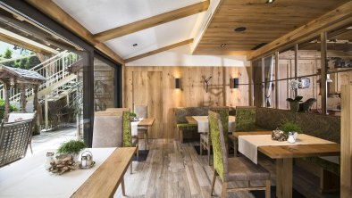 Hotel Pramstraller - Wintergarten-Restaurant