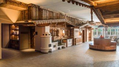 Das Tiroler Saunadorf, © Interalpen-Hotel Tyrol