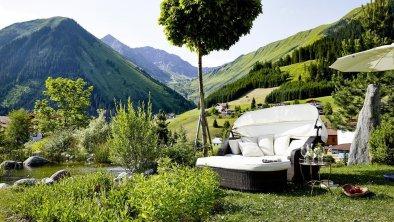 Relax-Bereich im Garten