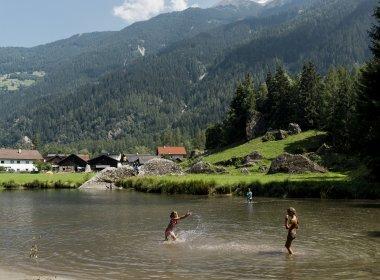 Swimming in Längenfeld, Ötztal Valley
