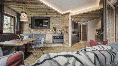 Küche Chalet Suite mit Terrasse