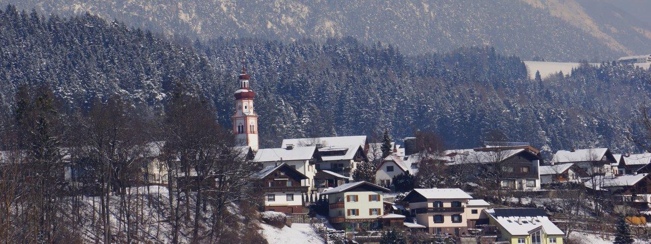 Baumkirchen in winter, © Hall-Wattens