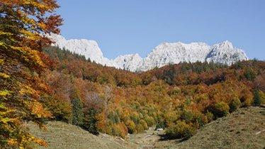 Autumn in the Wilder Kaiser Mountains
