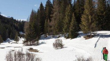 Winter hike to the Harbe Weiher weir in the Kaunergrat Nature Park, © Robert Pupeter