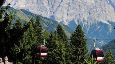Almkopfbahn Bichlbach cable car in Berwang, © Roland Hosp
