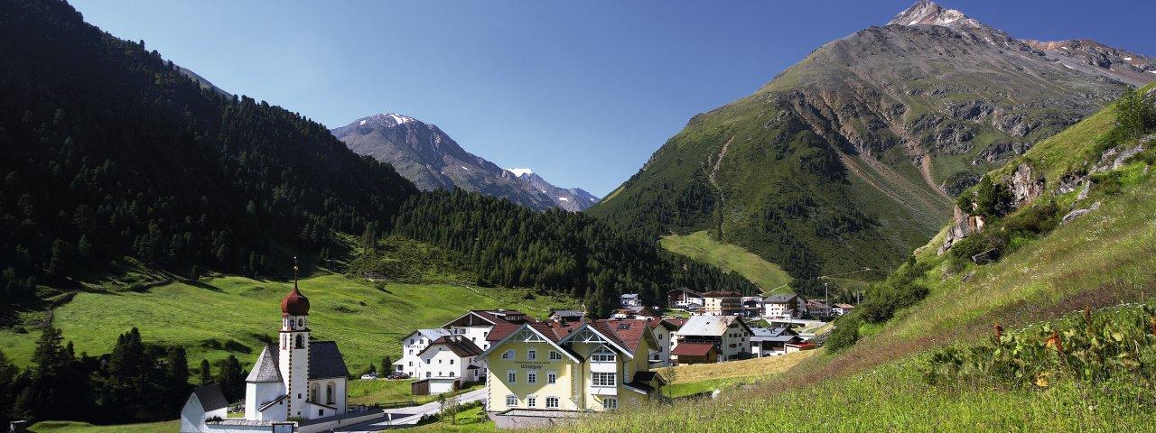 The village of Vent, © Ötztal Tourismus/Bernd Ritschel