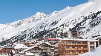 Ortsansicht Obergurgl hoch, © Haus Alpenblick, Fam. Scheiber