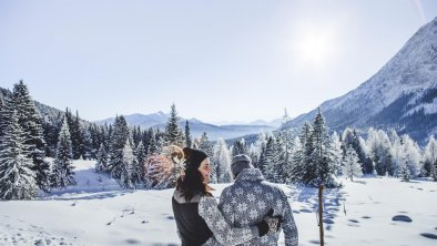 Winterwandern im Gaistal