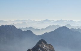 View from the Birkkarspitze mountain, © Jannis Braun