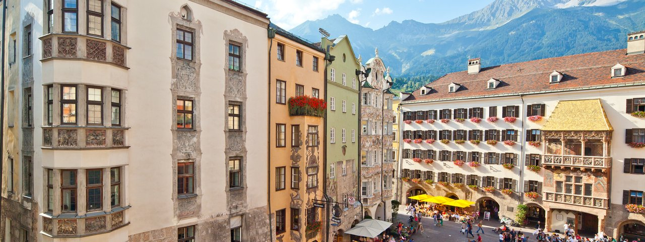 Golden Roof in Innsbruck, © TVB Innsbruck / Christof Lackner
