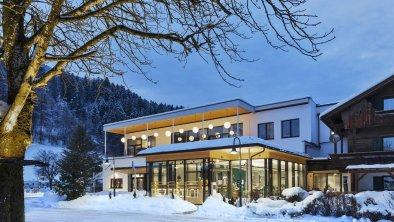 Eingang Winter, © Hells Ferienresort