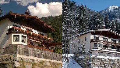 Sommer und Winter im Fernblick