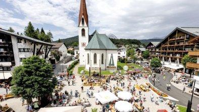 Events am Dorfplatz in Seefeld, © Olympiaregion Seefeld