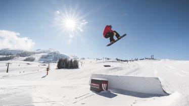 Highfive Snowpark, © Bergbahnen Steinplatte