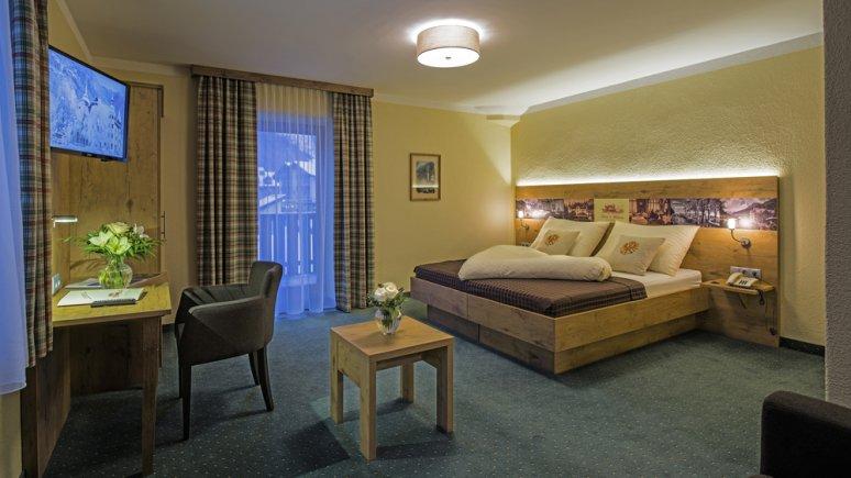 Room at the Drei Mohren Hotel
