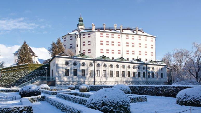 Ambras Castle in Winter, © TVB Innsbruck/Christof Lackner