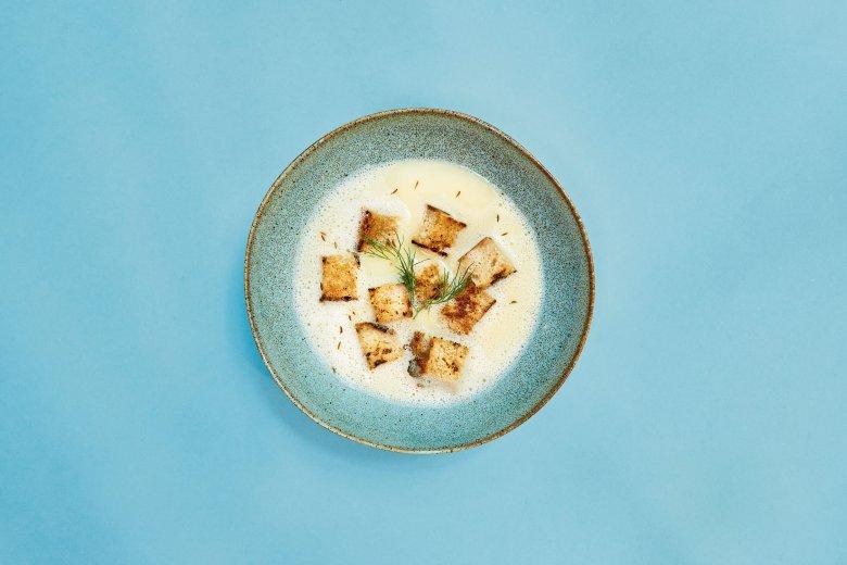 """Graukäse"" soup"