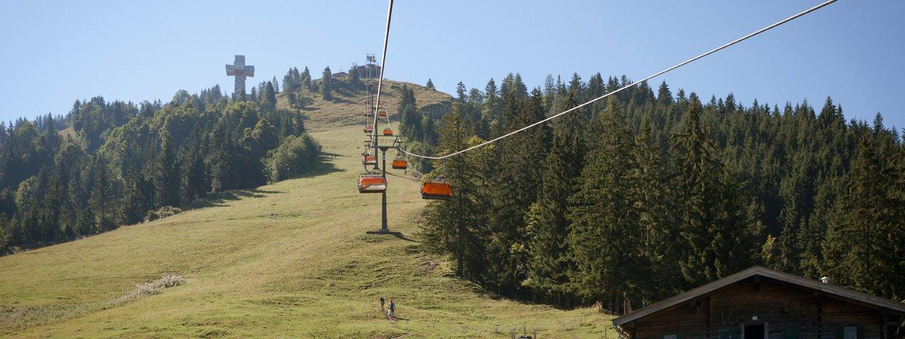 Buchensteinwand four-man chairlift, © Tirol Werbung/Jens Schwarz