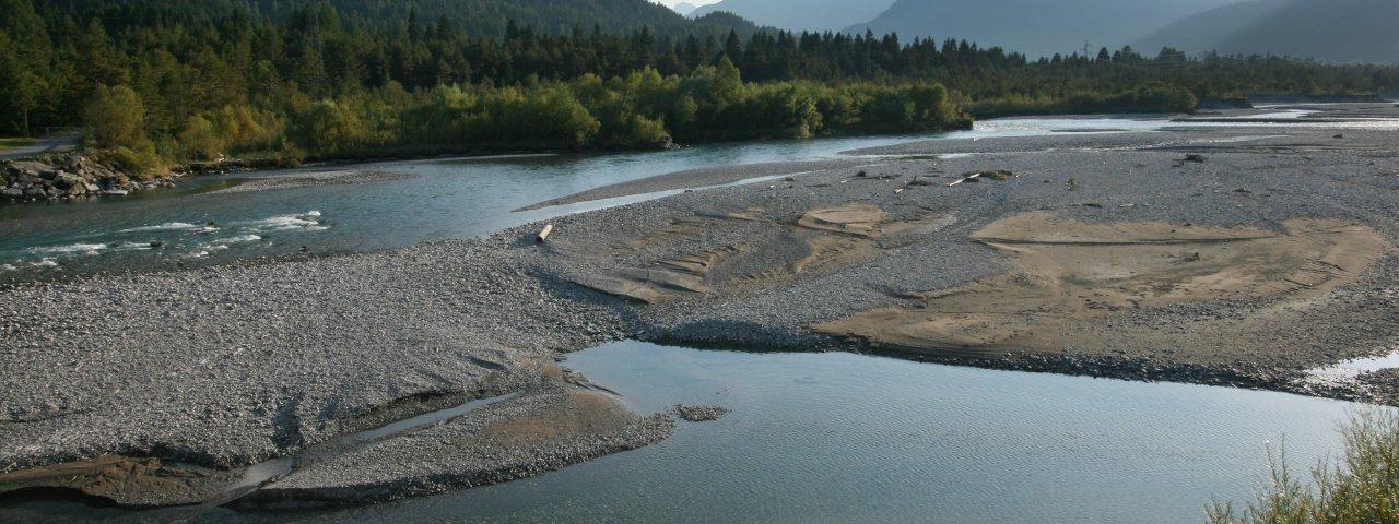 The Lech river at Weissenbach, © Verein Lechwege/Gerhard Eisenschink