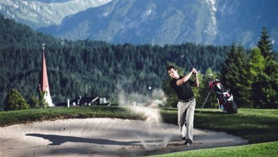Golf Abschlag - Anlage Seefeld-Reith klein, © Olympiaregion Seefeld