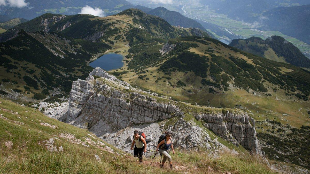 Eagle Walk stage in the Rofan Mountains, © Tirol Werbung