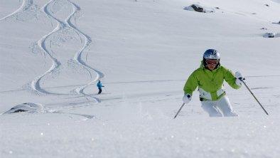 Skifahrerin - Stubaier Gletscher