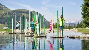 Water games in Timok's Wild World, © fieberbrunn.com