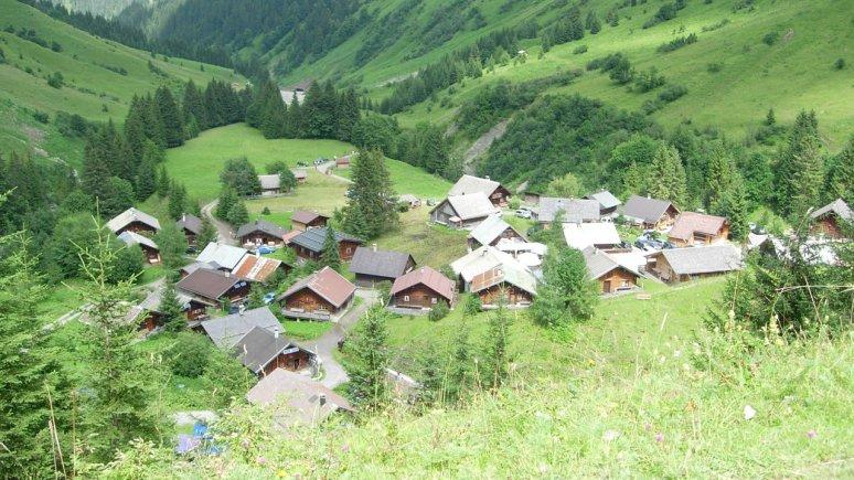 Fallerschein Alpine Village, © Hüttendorf Fallerschein