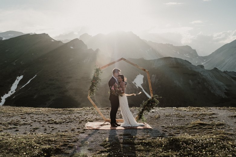 Michelle & Daniel, Blaser Mountain