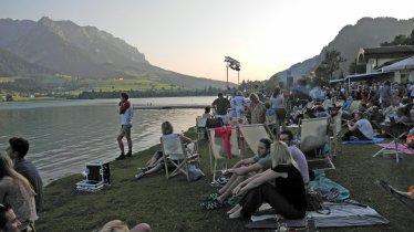 Midsummer Night's Dream on the shores of Walchsee Lake, © TVB Kaiserwinkl