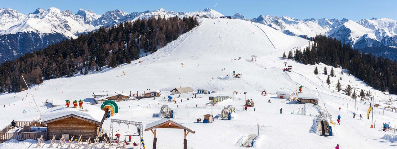 Skiing in Serfaus, © Tirol Werbung/Robert Pupeter