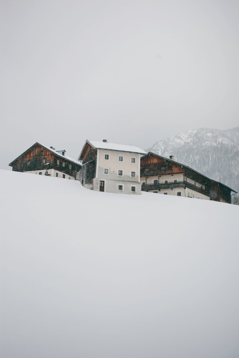 The Mesnerhof in Steinberg am Rofan, a remote farm surrounded by untouched nature.