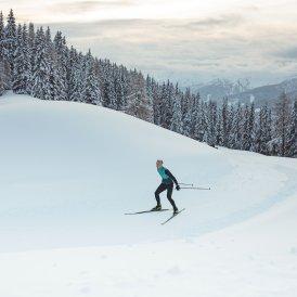 Cross-country skiing, © Tirol Werbung / Katharina Poblotzki