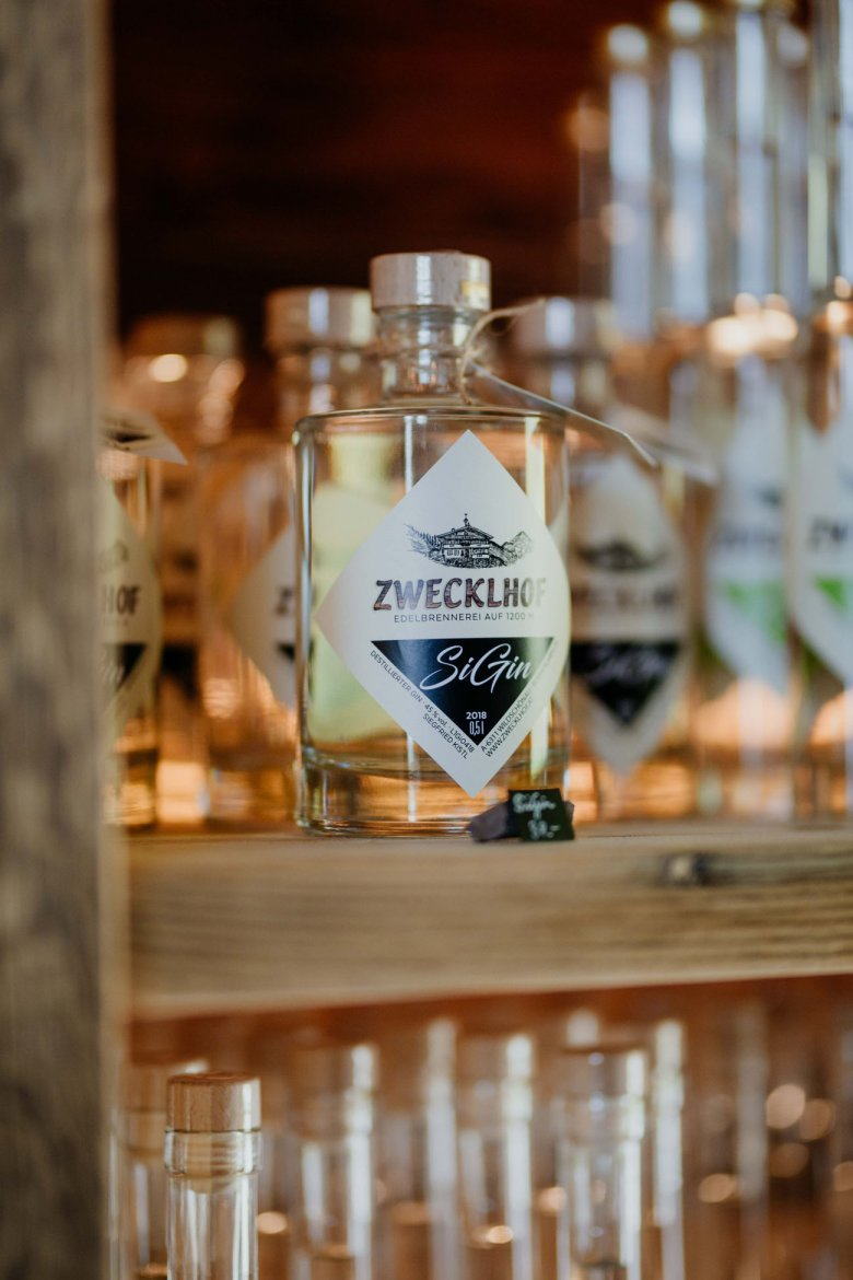 """Last winter Siegfried made his first ever gin, which he calls """"SiGin"""" in reference to his nickname """"Sigi""""."""