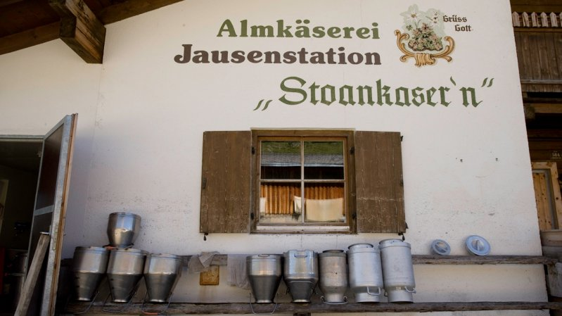 Stoankasern Mountain Dairy and Snack Station, © Tirol Werbung / Maren Krings