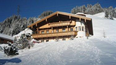 Winteransicht Haus