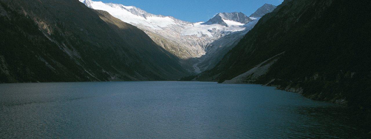Along Stage 10: Schlegeis reservoir, © Tirol Werbung/Klaus Kranebitter