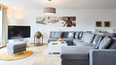 Panoramasuite - Wohnbereich