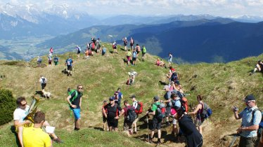 The 24-Hour Walk traverses the beautiful Loferer and Leoganger Steinberge Ranges, © SMPR
